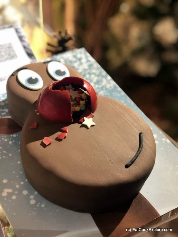 Tesco Rudolf Cake
