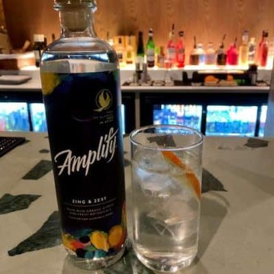Amplify distilled non alcoholic spirit