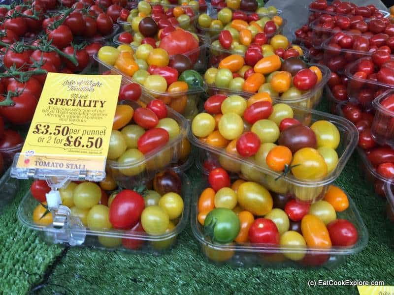 Isle of Wight tomatoes home delivery