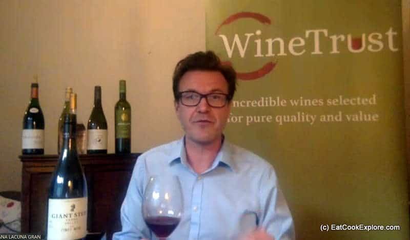 Alisdair Cooper MW Wine Tasting with Winetrust