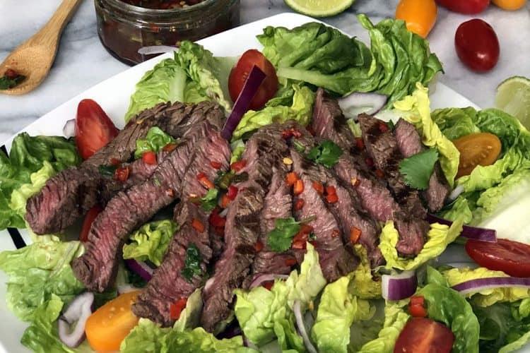 Weeping Tiger Thai Beef Salad