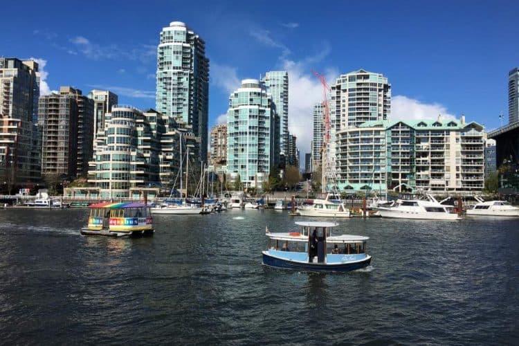 Vancouver View toward York Town