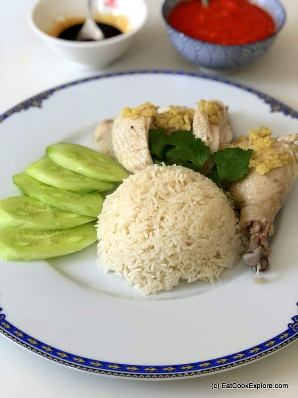 How to order Hainanese Chicken Rice
